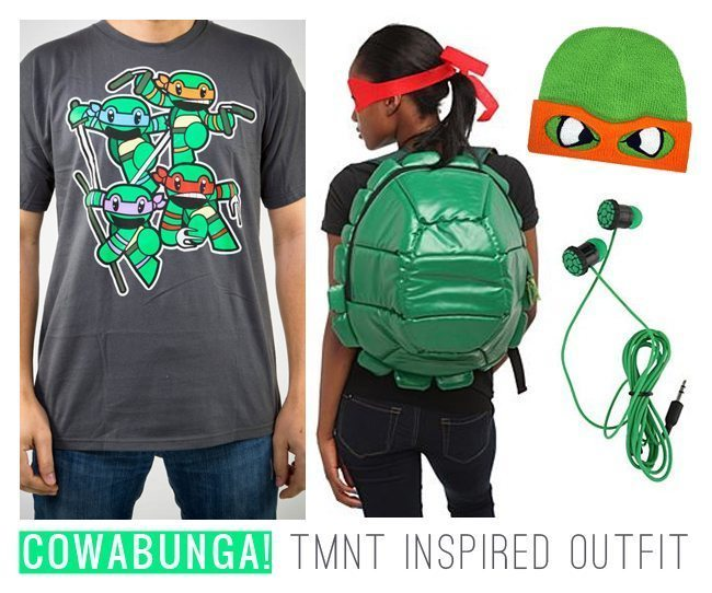Totally Rad TMNT Inspired Outfit