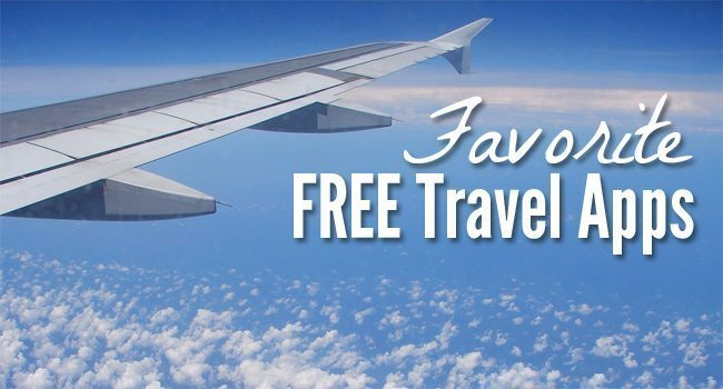 Favorite FREE Travel Apps