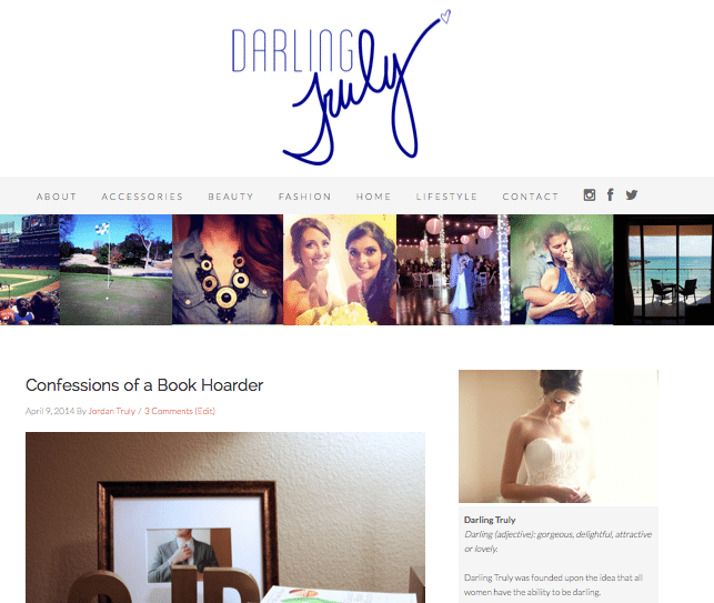 Featured Blog: Darling Truly
