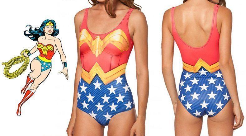 Giveaway: Wonder Woman Swimsuit