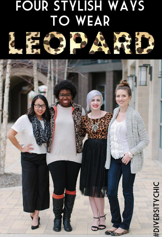 Diversity Chic: Leopard Print