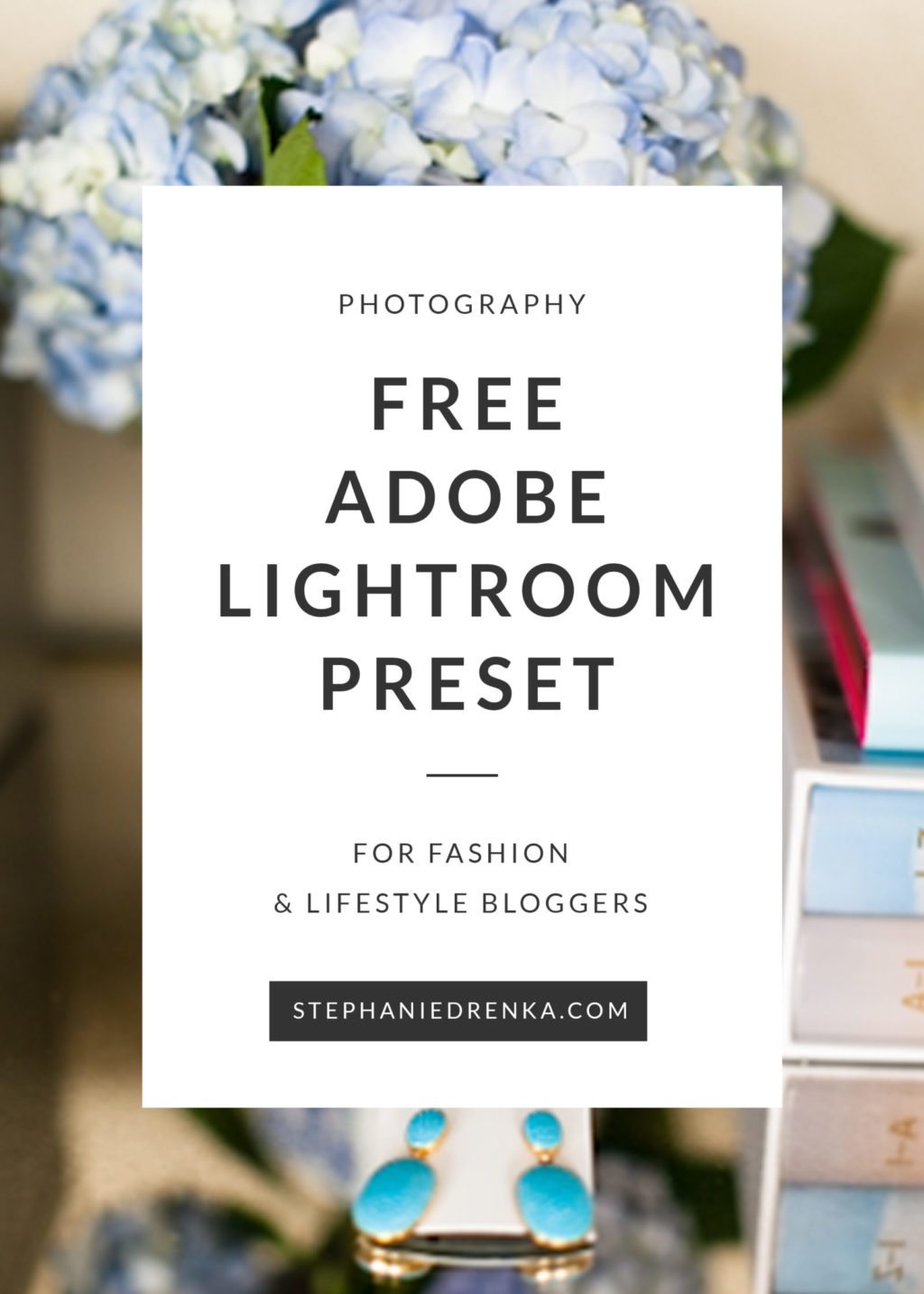 Download the FREE Lightroom Preset designed for fashion and lifestyle bloggers.