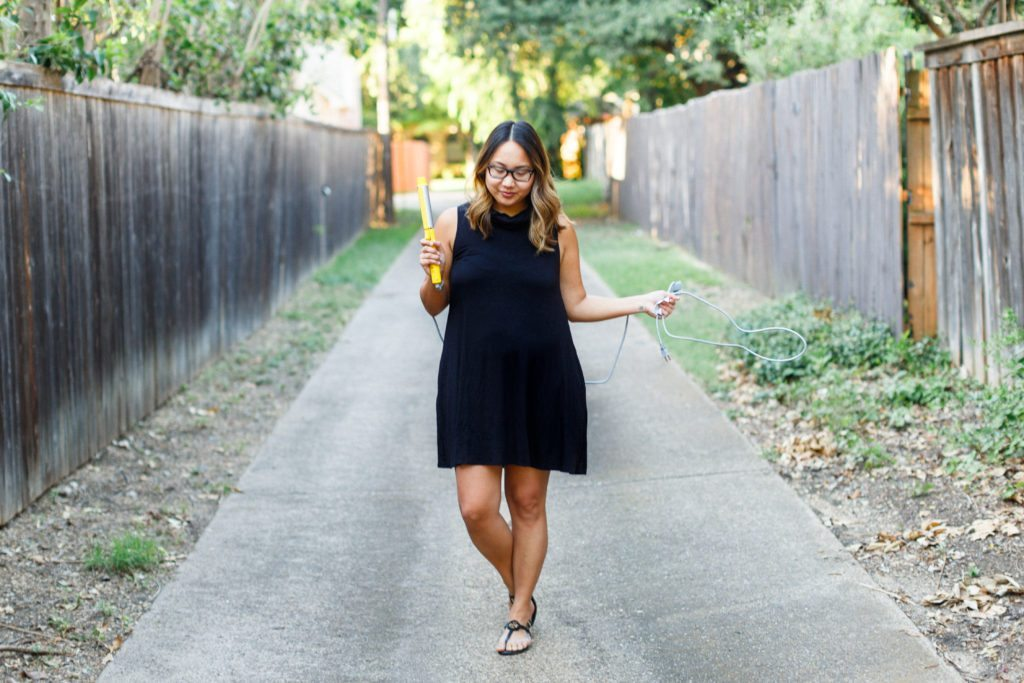 $25 Little Black Dress & Beach Waves