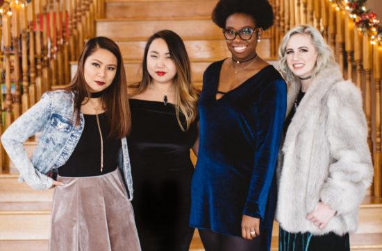 Diversity Chic // A Touch of Velvet | Stephanie Drenka