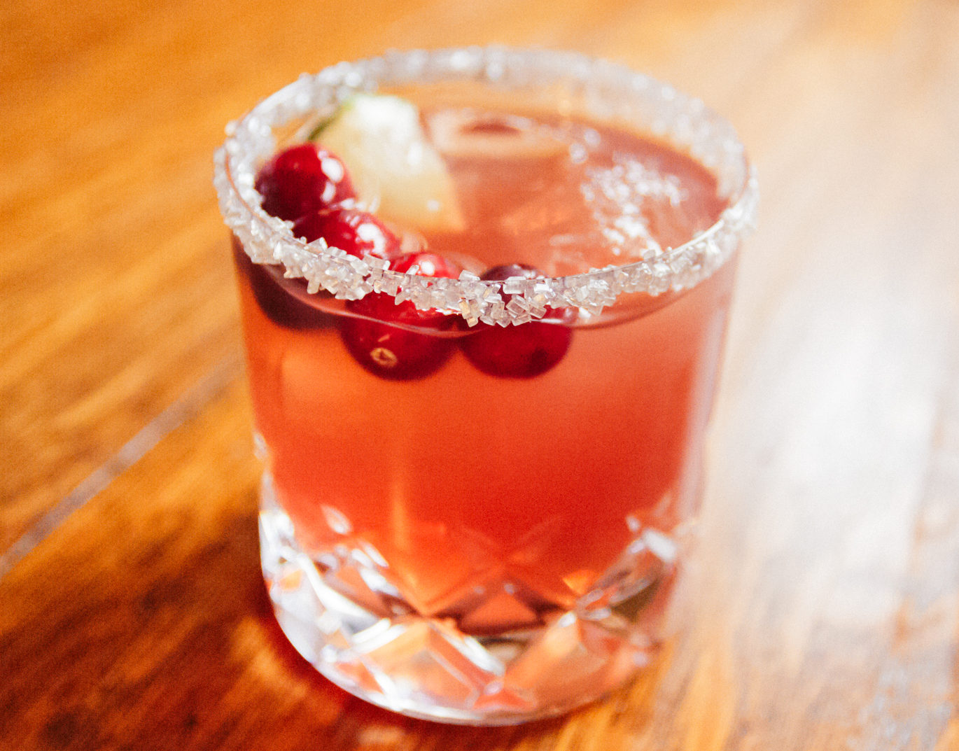 Holiday Cocktail: Cranberry Margarita