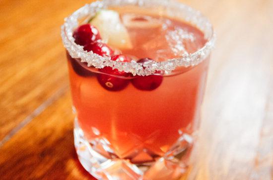 Holiday Cocktail: Cranberry Margarita | Stephanie Drenka