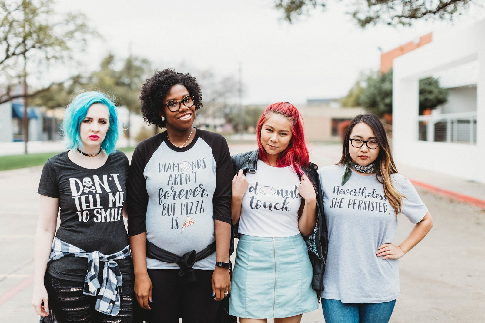 "Everyday Unicorns is a ""cute + quirky feminist apparel"" brand created by Valery Brennan"